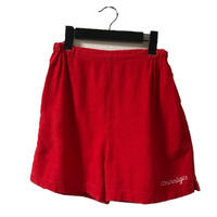 courrèges short pants red