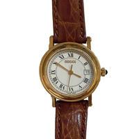 GUCCI gold frame watch (No.4375)