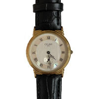 CELINE shell design watch (No.4368)