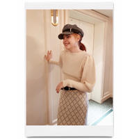 arm volume knit ivory