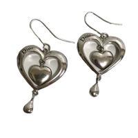 Dior heart design pierce