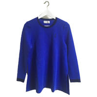 Yves Saint Laurent logo knit blue