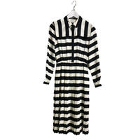 monotone stripe one-piece