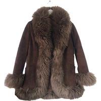 mouton coat mocha blown