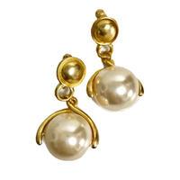 swing pearl earrings