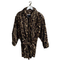 leopard design coat