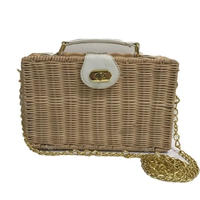 basket chain shoulder bag