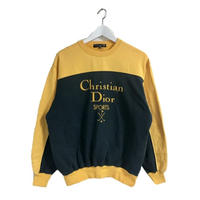 Dior bi color logo sweat