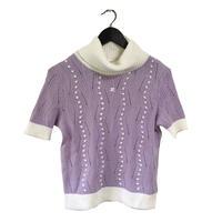 courrèges turtleneck design knit