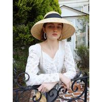 arm lace corset blouse white