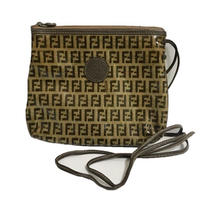 FENDI logo vinyl shoulder bag