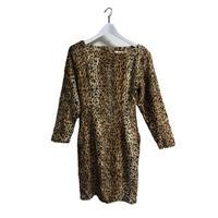 leopard fur onepice