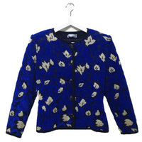 YSL crystal botton cardigan