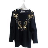bijou design knit black