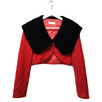 quilting Black & Red jacket