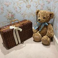 vintag square Basket bag