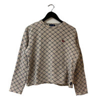 Burberry  check design sweat(No.3300)