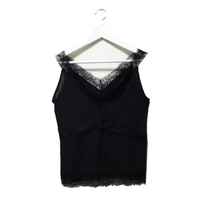 V design lace camisole