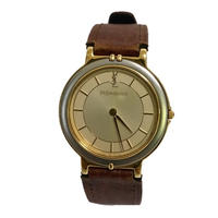 YSL brown belt design Watch