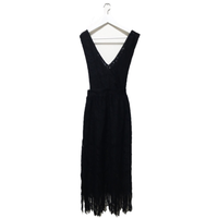 lace fringe 2way one-piece