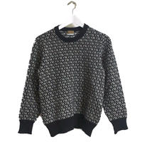 Yves Saint Laurent logo knit