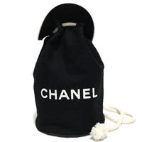 CHANEL logo knapsack