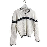 Dior logo Vneck knit