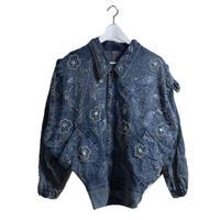 bijou design denim jacket