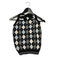 Burberry argyle design halter neck tops (No.3029)