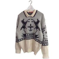 LANCEL logo design knit