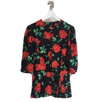 peplum flower tops