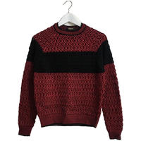 original design knit red