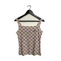 Burberry check camisole pink