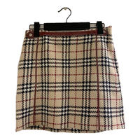 Burberry check design mini skirt(No.3876)