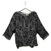 design tunic black