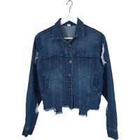 【再入荷】back design denim jacket