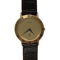 GUCCI gold design watch (No.4363)