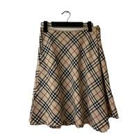 Burberry check design flare skirt(No.3260)