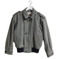 wool design blouson