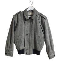 wool design blouson