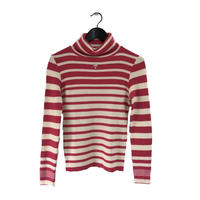 courrége high neck knit pink