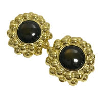 gold studs design earrings
