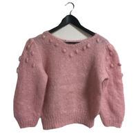 【スペシャルプライス】pon pon pearl knit pink