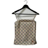 Burberry check design camisole