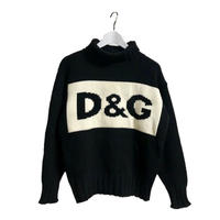 D&G big logo knit