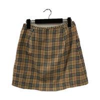 Burberry check design skirt(No.3297)
