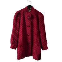 【スペシャルプライス】wool design coat red