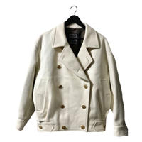 【スペシャルプライス】Dior wool design coat off-white