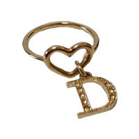Dior Heart design gold ring