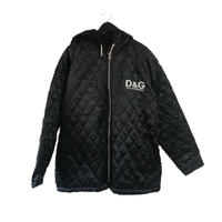 D&G quilting hood coat